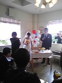 めぐちゃん結婚披露パーティー