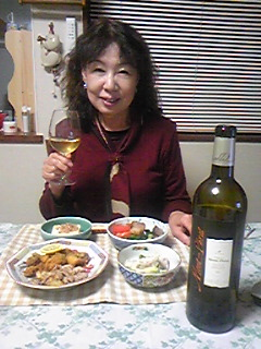 娘と夕食を〜
