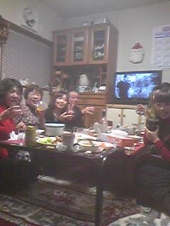 再びクリスマスパーティー
